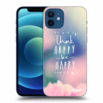 Obal pro Apple iPhone 12 - Think happy be happy