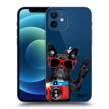 Obal pro Apple iPhone 12 - French Bulldog