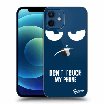 Obal pro Apple iPhone 12 - Don't Touch My Phone