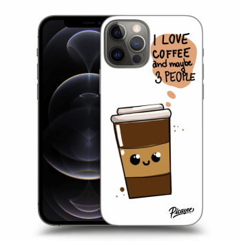 Obal pro Apple iPhone 12 Pro - Cute coffee