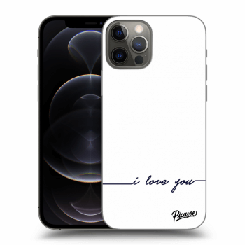 Obal pro Apple iPhone 12 Pro - I love you