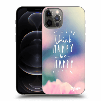 Obal pro Apple iPhone 12 Pro - Think happy be happy