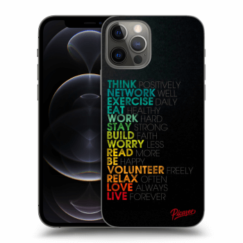 Obal pro Apple iPhone 12 Pro - Motto life