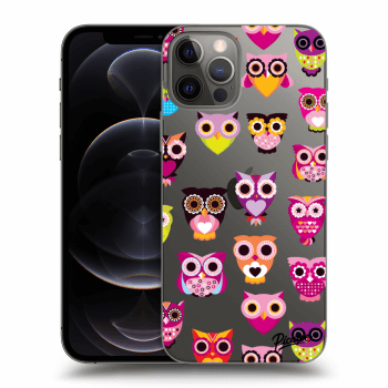 Obal pro Apple iPhone 12 Pro - Owls