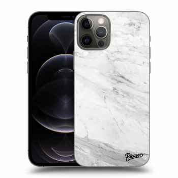 Obal pro Apple iPhone 12 Pro - White marble