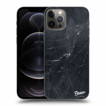 Obal pro Apple iPhone 12 Pro - Black marble