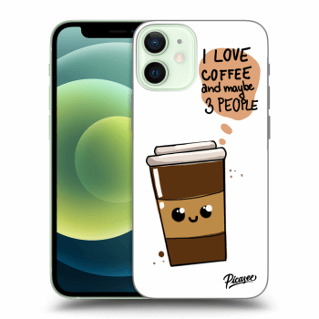 Obal pro Apple iPhone 12 mini - Cute coffee
