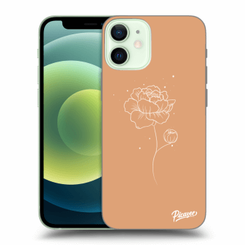 Obal pro Apple iPhone 12 mini - Peonies
