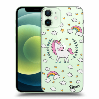 Obal pro Apple iPhone 12 mini - Unicorn star heaven