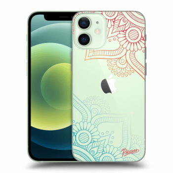 Obal pro Apple iPhone 12 mini - Flowers pattern