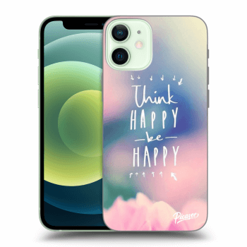 Obal pro Apple iPhone 12 mini - Think happy be happy