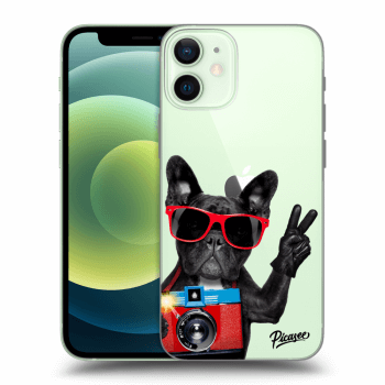 Obal pro Apple iPhone 12 mini - French Bulldog