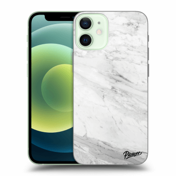 Obal pro Apple iPhone 12 mini - White marble