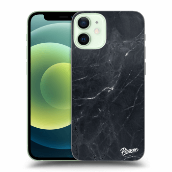 Obal pro Apple iPhone 12 mini - Black marble