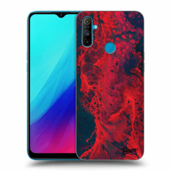Obal pro Realme C3 - Organic red
