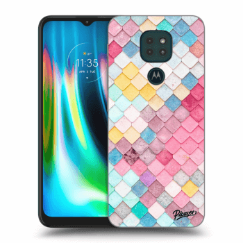 Obal pro Motorola Moto G9 Play - Colorful roof