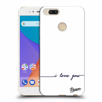 Obal pro Xiaomi Mi A1 Global - I love you