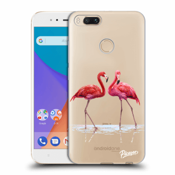 Obal pro Xiaomi Mi A1 Global - Flamingos couple