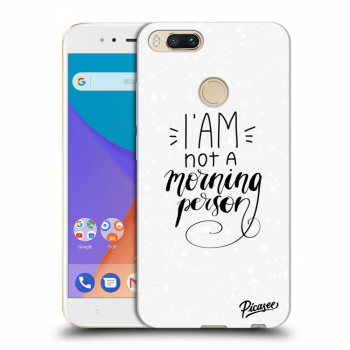 Obal pro Xiaomi Mi A1 Global - I am not a morning person