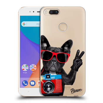 Obal pro Xiaomi Mi A1 Global - French Bulldog