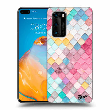 Obal pro Huawei P40 - Colorful roof