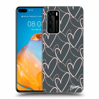 Obal pro Huawei P40 - Lots of love