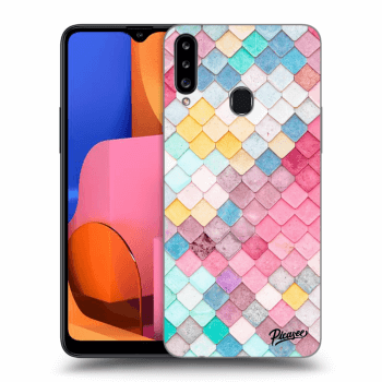 Obal pro Samsung Galaxy A20s - Colorful roof