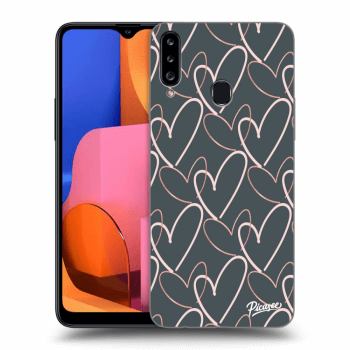Obal pro Samsung Galaxy A20s - Lots of love