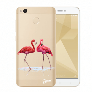 Obal pro Xiaomi Redmi 4X Global - Flamingos couple