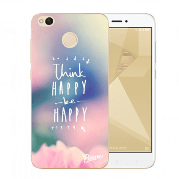 Obal pro Xiaomi Redmi 4X Global - Think happy be happy