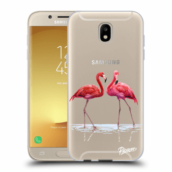 Obal pro Samsung Galaxy J5 2017 J530F - Flamingos couple