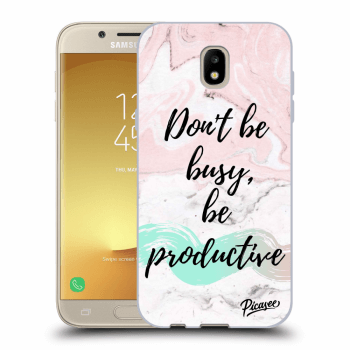 Obal pro Samsung Galaxy J5 2017 J530F - Don't be busy, be productive
