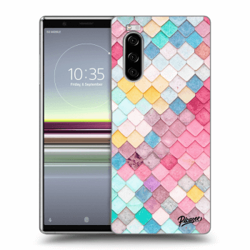 Obal pro Sony Xperia 5 - Colorful roof