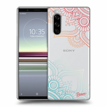 Obal pro Sony Xperia 5 - Flowers pattern