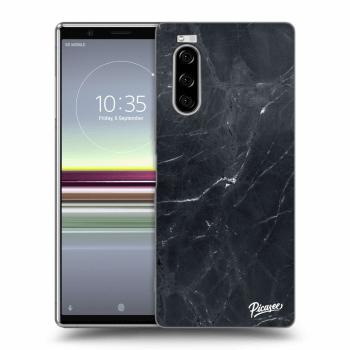 Obal pro Sony Xperia 5 - Black marble