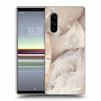 Obal pro Sony Xperia 5 - Cream marble