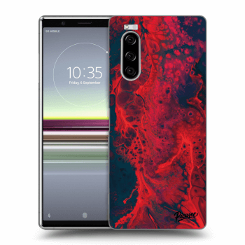 Obal pro Sony Xperia 5 - Organic red