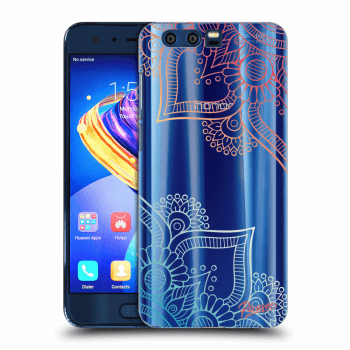 Obal pro Honor 9 - Flowers pattern