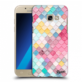 Obal pro Samsung Galaxy A3 2017 A320F - Colorful roof
