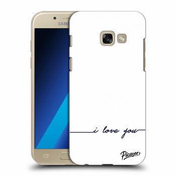 Obal pro Samsung Galaxy A3 2017 A320F - I love you