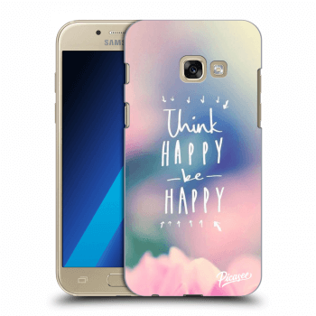 Obal pro Samsung Galaxy A3 2017 A320F - Think happy be happy