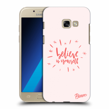 Obal pro Samsung Galaxy A3 2017 A320F - Belive in yourself