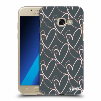 Obal pro Samsung Galaxy A3 2017 A320F - Lots of love