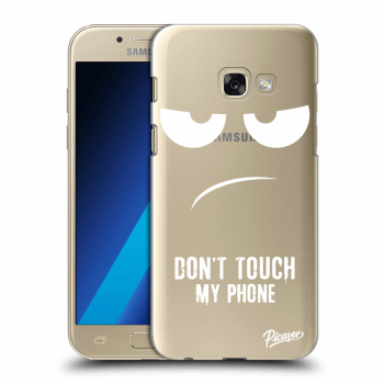 Obal pro Samsung Galaxy A3 2017 A320F - Don't Touch My Phone