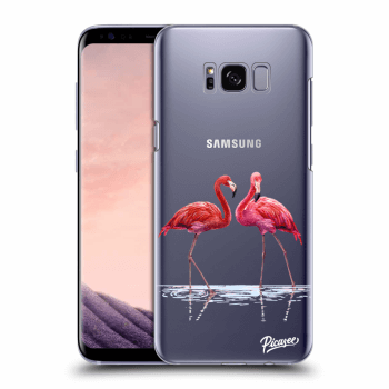 Obal pro Samsung Galaxy S8+ G955F - Flamingos couple