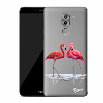 Obal pro Honor 6X - Flamingos couple