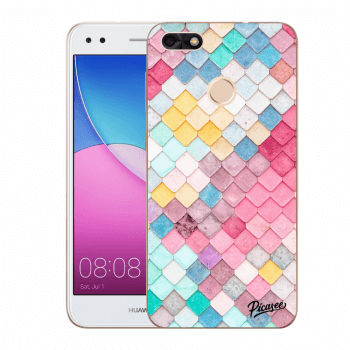 Obal pro Huawei P9 Lite Mini - Colorful roof