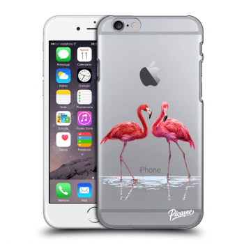 Obal pro Apple iPhone 6/6S - Flamingos couple