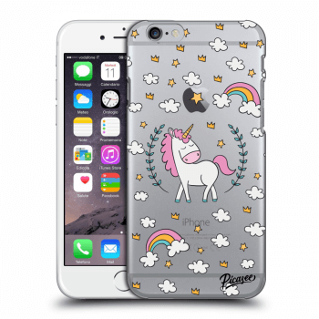 Obal pro Apple iPhone 6/6S - Unicorn star heaven