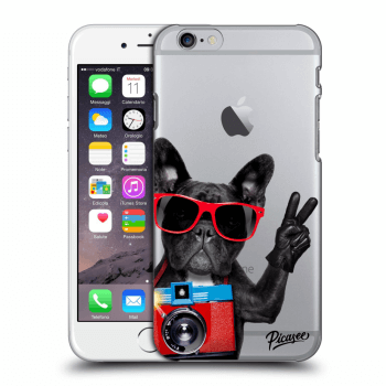 Obal pro Apple iPhone 6/6S - French Bulldog